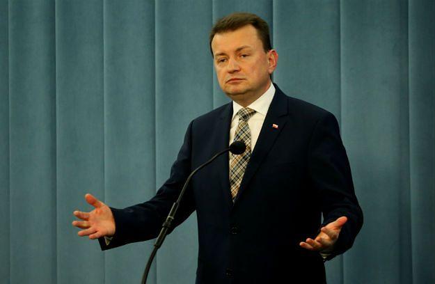 Mariusz Błaszczak zapowiada nowe przepisy dotyczące opozycji