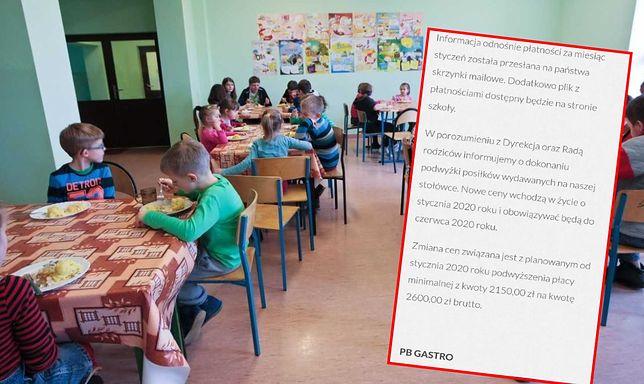 Obiady w szkolnych stołówkach będą droższe. Nie da się tego uniknąć