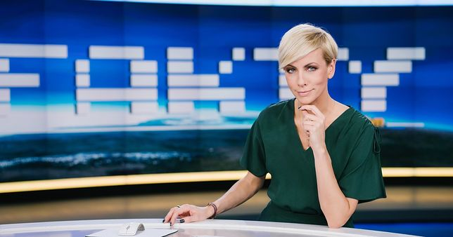 Anita Werner jest jedną z najbardziej rozpoznawalnych dziennikarek TVN