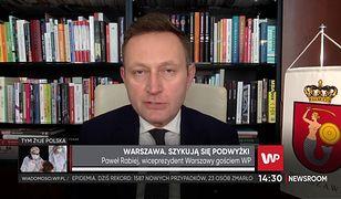 """Koronawirus. Paweł Rabiej wprost o kondycji budżetu Warszawy: """"stoimy przed dramatycznym wyborem"""""""
