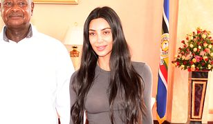 Kim Kardashian bez makijażu