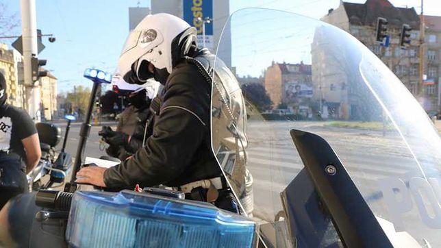 Dolny Śląsk. Kolejny wypadek na A4. Motocyklista wpadł pod naczepę ciężarówki