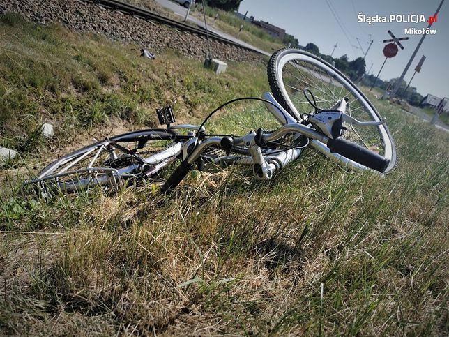 Śląsk. Pociąg śmiertelnie potrącił  77-letnią rowerzystkę w Orzeszu Jaśkowicach.