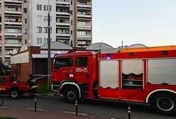2-latka zamknęła mamę na balkonie we Włodawie. Pomogli dopiero strażacy