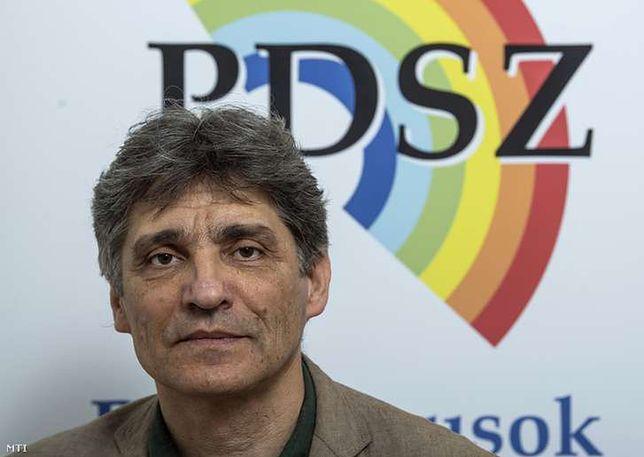 Tamas Szucs, szef związku zawodowego PDSZ
