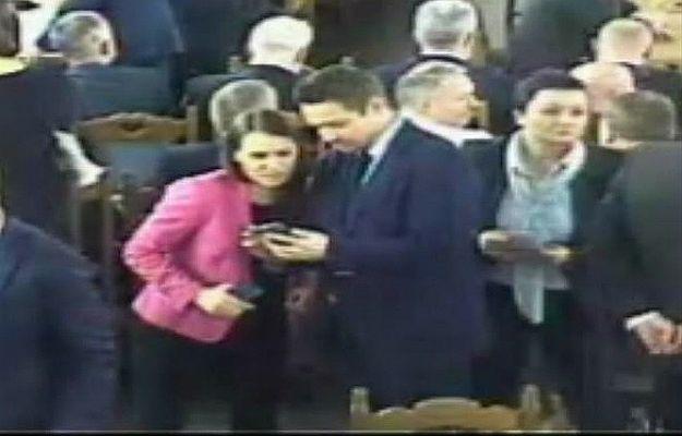 Sejm ujawnił nagranie z Sali Kolumnowej