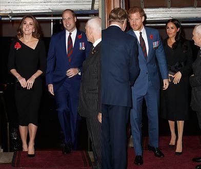 Księżne Meghan i Kate na czarno. Miały ważny powód
