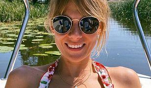 Marta Wierzbicka korzysta z pogody. Pokazała się fanom w bikini