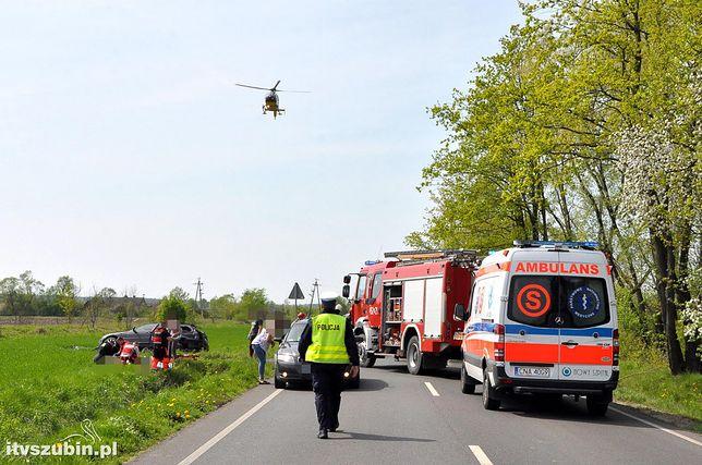 W wypadku niedaleko Bydgoszczy zginęły 4 osoby