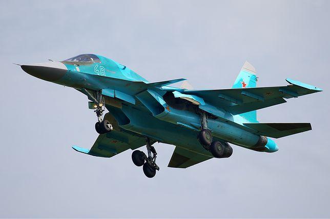 Rosja. Dwa bombowce Su-34 zderzyły się w powietrzu