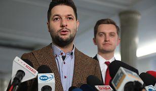 Patryk Jaki wraz z posłami Solidarnej Polski zwołał konferencję prasową