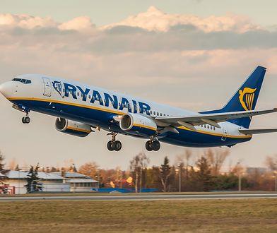 Poznań. Nie żyje 68-letni pasażer Ryanair