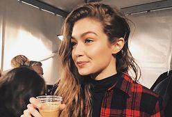 """Gigi Hadid kocha polską modę! Pokazała się w kurtce """"Made in Poland"""""""