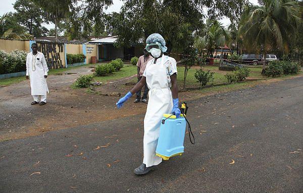 Wirus Ebola: środki bezpieczeństwa w Liberii