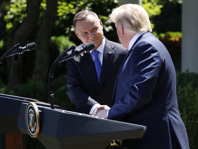 """Dlaczego Donald Trump stawia na Polskę? """"Die Welt"""": powodem """"strategiczny plan"""""""