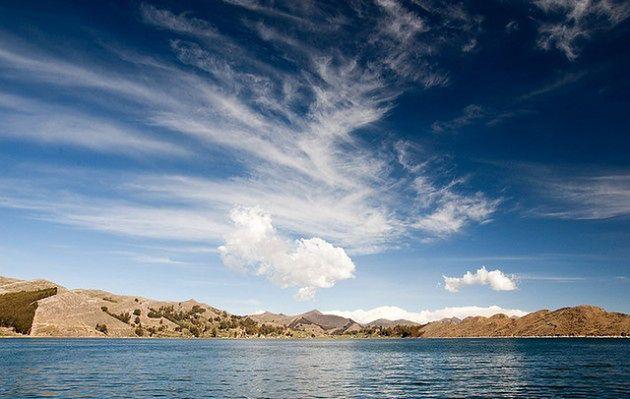 Jezioro pływających wysp