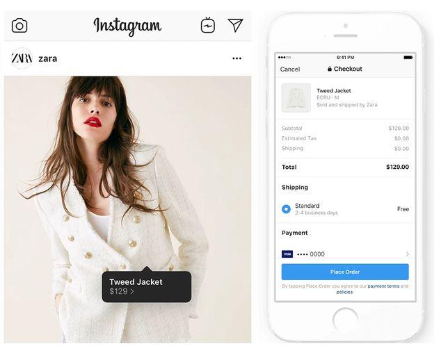 Instagram wprowadza zakupy w aplikacji