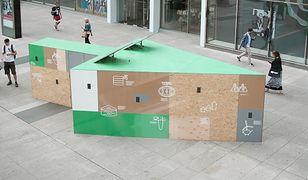 W Pasażu Wiecha stanęła ekologiczna instalacja