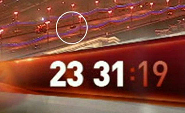 Telewizja moskiewska pokazała moment zabójstwa Niemcowa. Nagranie z monitoringu