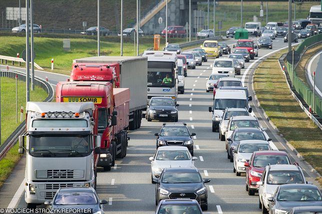 Autostrada A1 w kierunku Gdańska zablokowana. Wypadek