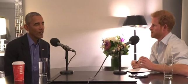 Książę Harry przeprowadził wywiad z Barackiem Obamą. Były prezydent ostrzegł przed nieodpowiedzialnym użyciem mediów społecznościowych