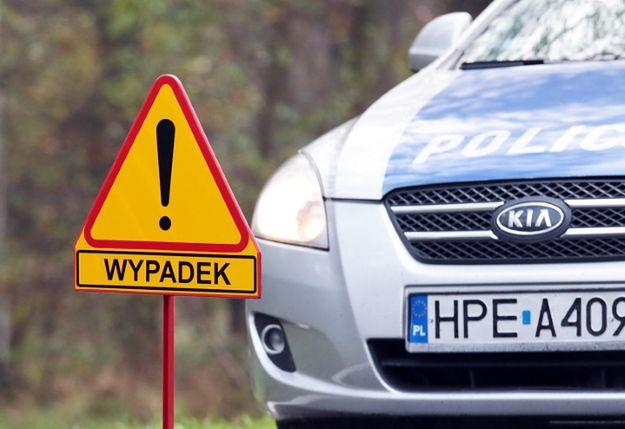 Śląskie: 11 osób rannych w wypadku autobusu na Żywiecczyźnie