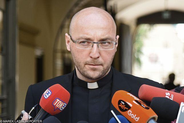 Ks. dr Piotr Studnicki, przedstawiciel krakowskiego Centrum Ochrony Dziecka