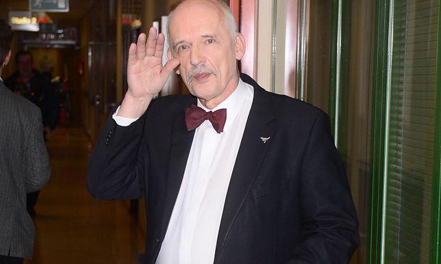 Janusz Korwin-Mikke komentuje kolizję ze swoim udziałem