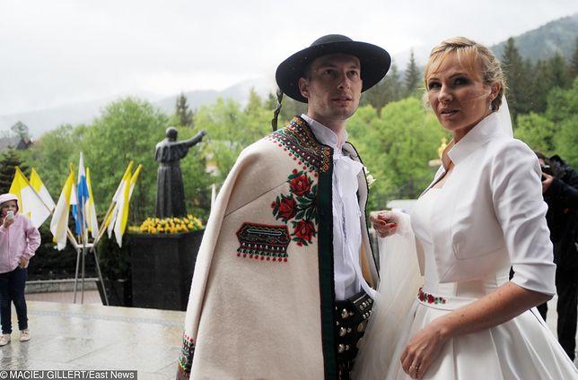 Anna Guzik i Wojciech Tylka