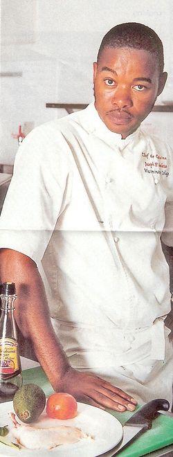 """Top Chef"": Poznajecie? To Joseph Seeletso!"