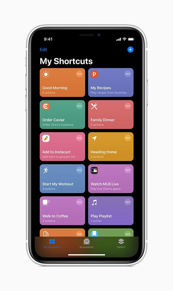 Zapowiadana aplikacja Shortcuts pojawi się w iOS 13.1