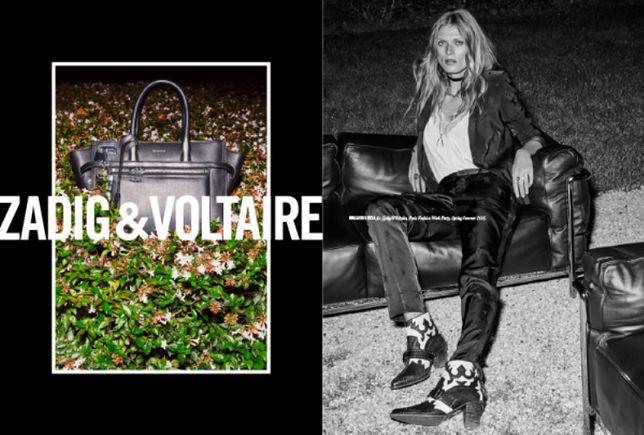Zjawiskowa Małgosia Bela w kampanii Zadig & Voltaire