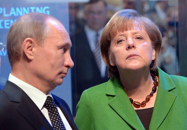 """Niemcy odwołują rozmowy z Rosją. """"To Merkel naciskała"""""""