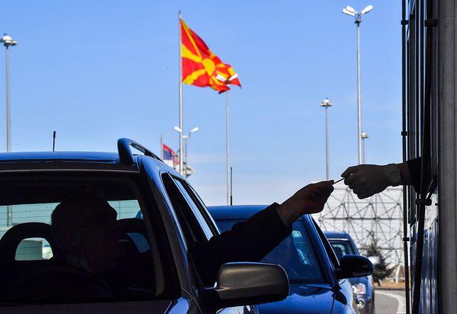 Koronawirus z Chin. Przejście graniczne w Macedonii Półnicnej