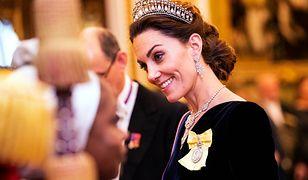 Kate Middleton zachywca uśmiechem
