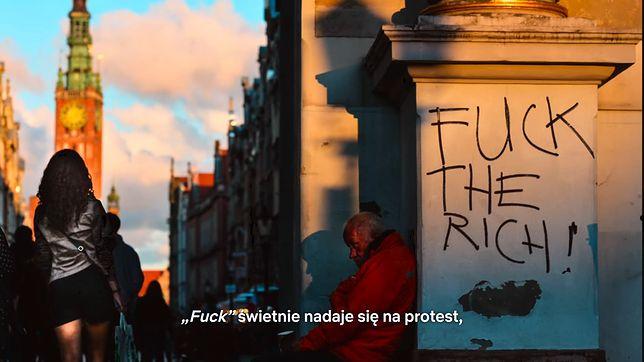 """Screen z dokumentu """"Historia wulgaryzmów"""""""
