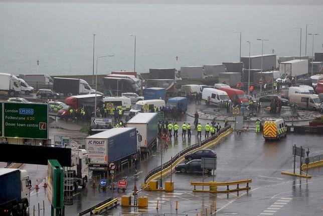 Sytuacja w Dover jest obecnie dramatyczna