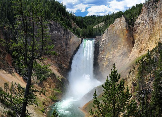 Widoki w Yellowstone robią ogromne wrażenie