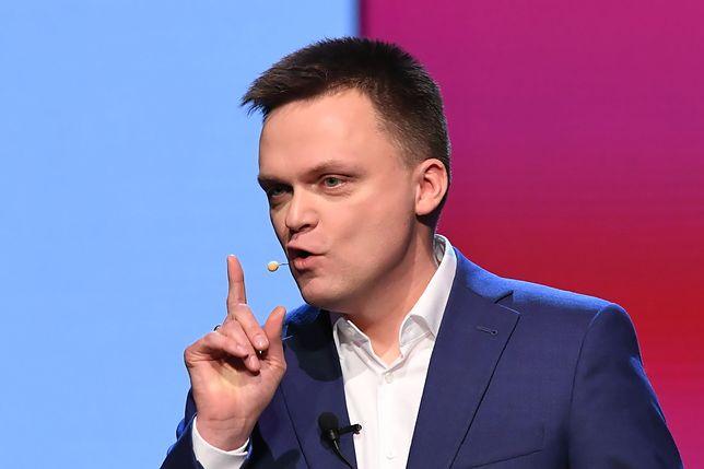 W poniedziałek Szymon Hołowania zawiesił kampanię wyborczą z powodu zagrożenia koronawirusem