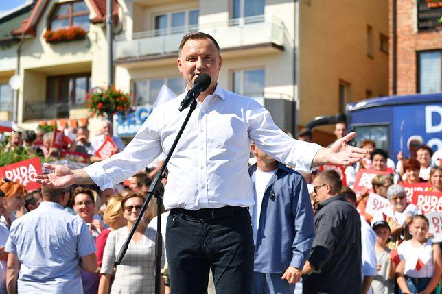 Wybory prezydenckie 2020. Andrzej Duda odwiedza kolejne miejscowości