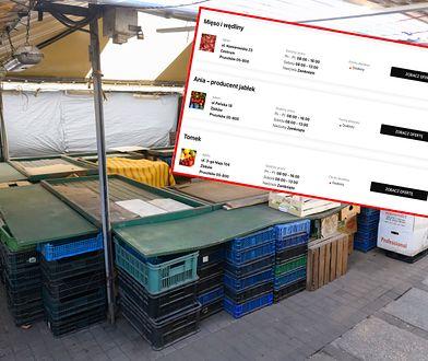 Bazary zamknięte prze koronawirusa, ale sprzedawcy starają się sobie radzić, jak mogą