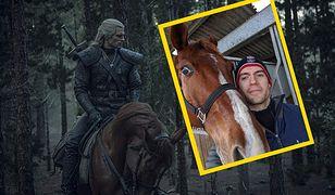 Henry Cavill i Zeus zagrali Geralta i Płotkę
