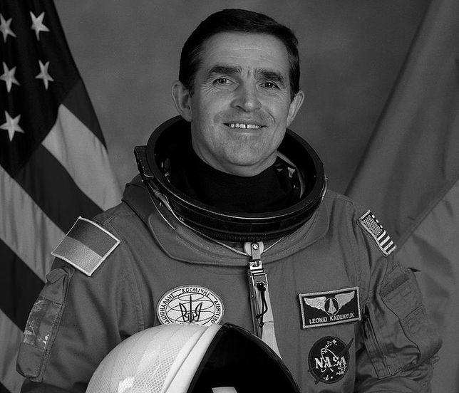Leonid Kadeniuk był pierwszym Ukraińcem w kosmosie po odzyskaniu przez kraj niepodległości