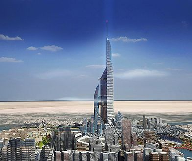 The Bride - projekt miasta i najwyższego budynku na świecie, ponad 1 km wysokości