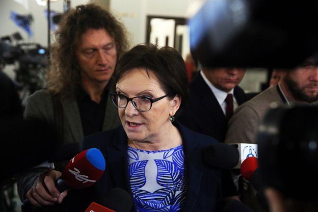 Ewa Kopacz o nowelizacji ustawy o TK: to jest zwykła gangsterka