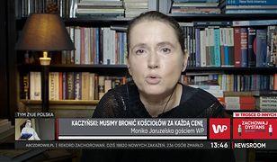 Jarosław Kaczyński przerywa milczenie. Monika Jaruzelska mówi o skojarzeniach z generałem