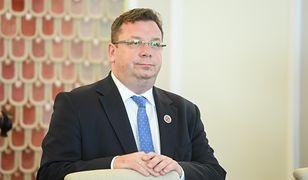 Wiceminister sprawiedliwości o Łukaszu Piebiaku: szanuję go