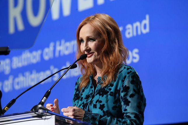J.K. Rowling miała objawy koronawirusa. Znalazła pomocną metodę w walce z chorobą