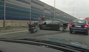Warszawa. Ogromne utrudnienia na S8 w kierunku Poznania