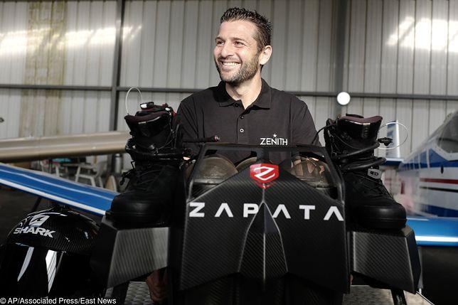 Franky Zapata - kim jest wynalazca deski Flyboard?